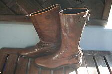 RA-RE RCA8 Damen Stiefel braun Gr.41      33cm  -ungetragen-     Made in Italy