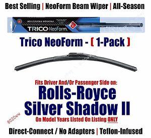 (Qty 1) NeoForm Wiper Blade fit 1977-1980 Rolls-Royce Silver Shadow II 16140