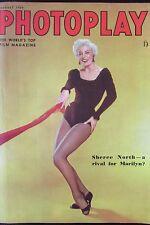 CINEMA REVUE PHOTOPLAY de 1954 SHEREE NORTH HAWKINS PECK MEL FERRER KERR FLYNN