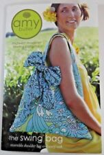 Amy Butler NEW Uncut Sewing Pattern Reversible Swing Bag AB017SB Made In USA