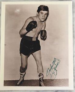 RUBEN OLIVARES Autograph Signed Photo 8x10 Greatest bantamweight champion COA