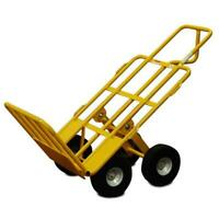 "Snap-Loc All-Terrain Hand Cart 4 Wheel w/ 750 lb Capacity & 10"" Airless Wheels"