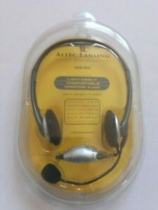 ALTEC LANSING AHS 202 STEREO HEADSET WITH MICROPHONE