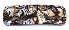 "French Onyx Barrette Slip Proof Celluloid Tortoise 3 1/2"" Hair Clip Barrette M10"