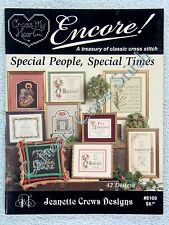 Cross Stitch Pattern Special People & Times 42 Designs Baptism Retire Christmas