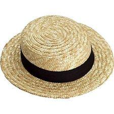 9370b90f84b Skimmer Boater s Barber Shop Political Straw Hat