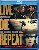 LIVE DIE REPEAT: EDGE OF TOMORROW USED - VERY GOOD BLU-RAY