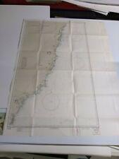 Antique Vintage  Navy  Nautical Chart Aeronautical Map    Australia  Cape Byron