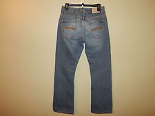 """Men's NUDIE JEANS REGULAR RALF BUTTON FLY """"Second Hand"""" Distressed 31 x 31 NICE!"""