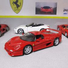 Ferrari F50 Supercar Rosso Red 1:24 Scale Die-Cast Model Car