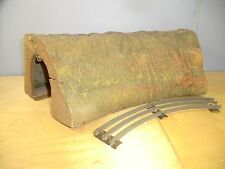 "VINTAGE HORNBY ""O"" WOOD / FIBRE MODEL No.4   ""LARGE CURVE TUNNEL  ""   MEGA RARE"