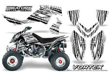 POLARIS OUTLAW 450 500 525 2006-2008 GRAPHICS KIT CREATORX DECALS VORTEX BW