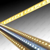 5*72 LED SMD 5050 Strip GRILL Light Hard Rigid U Groove Showcase Lamp Bar DC 12V