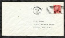 p959 - Canada 1932 FDC Cover KGV 3c Provisional