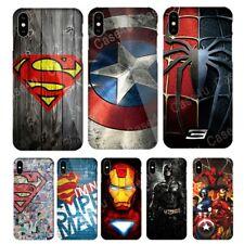 Marvel Captain America Phone Case for iPhone 6S 7 8 Plus X XS Max XR 11 Pro SE