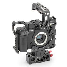 CGPRO Armour Cage Essential Kit For PANASONIC GH5 with 15mm rod riser UK Stock