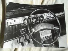 Renault 12 TS Dashboard press photo undated v1