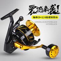 japan fishing reel spinning Jigging reel Saltwater 35kg drag power Alloy reel
