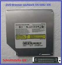 Laptop Notebook IDE DVD RW Laufwerk Brenner ohne Blende 12,7mm SN-S082