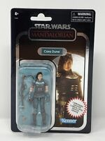 Star Wars Vintage Carbonized- Cara Dune Mandalorian Collectible Figure Limited