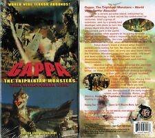 Gappa Triphibian Monsters VHS Video Tape New English Dubbed Special Widescreen