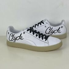 PUMA CLYDE SIGNATURE ICE Sneakers Shoes White Black Mens Size 10 US