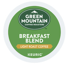 Green Mountain Breakfast Blend Keurig K-Cups 72 Count - FREE SHIPPING