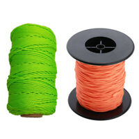 2 Pack Scuba Diving Reel Line 150+289FT Orange for Wreck and Cave Diving