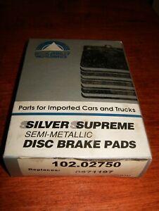 Disc Brake Pad BECK ARNLEY Semi-Metallic Brake Pads Front 102.02750