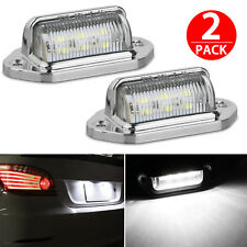 2x Universal 6-SMD LED License Plate Tag Lights Lamps for Truck SUV Trailer Van