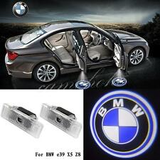 2x LED Door Step Courtesy Laser Ghost Shadow Projector Lights For BMW E53 X5 E39