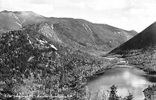 Echo Lake and Mt Lafayette Franconia New Hampshire NH RPPC