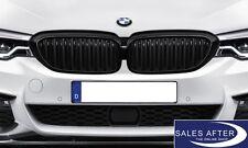 Original BMW M PERFORMANCE Ziergitter Nieren 5er G30 G31 schwarz black NEU