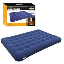 Inflatable Camping Double Air Bed Waterproof Indoor Outdoor Mattress Tent Pump