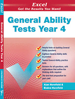 New Excel General Ability Test Year 4 / Grade 4 Workbook! GA! OC! SELECTIVE!