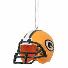 Green Bay Packers Helmet Plastic Christmas Tree Holiday Ornament New Team Logo