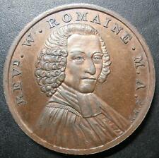More details for uk medallion / token - rev. william romaine 1795 ef or better middlesex d&h#216