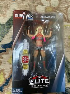 Mattel WWE Basic Serie 85 Alexa Bliss card non Menta