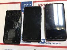 Motorola Droid Turbo 32GB Unlocked Verizon Smartphone Bad LCD Powers On Lot of 3