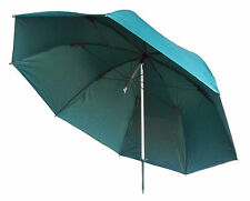 """MDI Deluxe 50"""" 100% Green Waterproof Coarse, Match Fishing Umbrella with Case"""