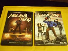 (2) Ash vs. The Evil Dead Season DVD Lot: Complete Seasons 1 & 2  Bruce Campbell