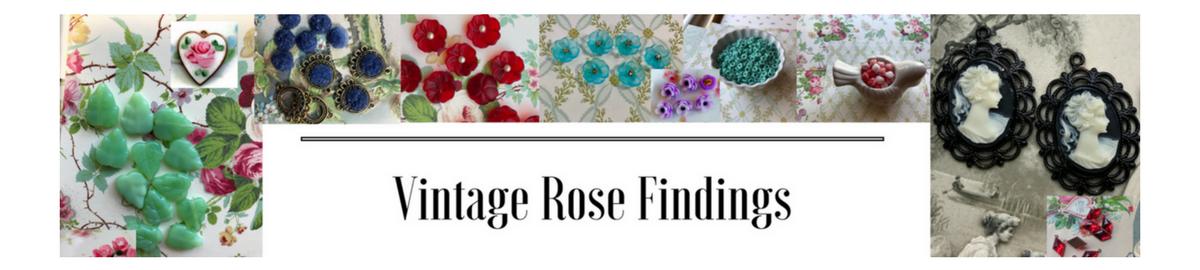 Vintage Rose Findings
