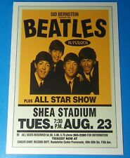 Vintage Beatles Concert Poster SHEA STADIUM New York August 23 1966 12X17.5 COPY