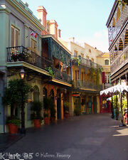 Morning Calm - New Orleans Square - Disneyland Photography 8x10 Gloss Print