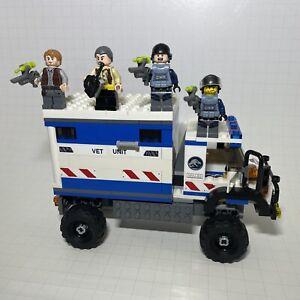 Lego Jurassic World 75917 Mixed Lot Minifigures ACU Troopers With Armor & MVU-83