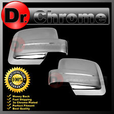 2007-2012 JEEP PATRIOT+ 2008-2012 JEEP LIBERTY Triple Chrome plated Mirror Cover