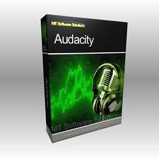 Music Audio Editing Recording WAV MP3 Edit DJ Mix Software