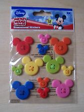 BRAND NEW-JOLEES/JOLEE'S BOUTIQUE-DISNEY-MICKEY ADHESIVE BUTTONS
