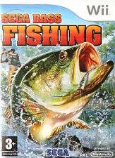 Nintendo Wii Fishing Video Games