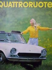 Quattroruote n°140 1967   - Test su strada Maserati Mistral 3.7 iniezione [Q79B]
